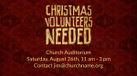 Christmas Volunteers Needed  PowerPoint Photoshop image 3