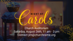 Night of Carols announcement 1 PowerPoint Photoshop image