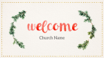Watercolor Christmas Wreath  PowerPoint Photoshop image 5