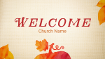 Give Thanks welcome PowerPoint Photoshop image