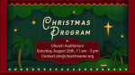 Christmas Program announcement 1 PowerPoint Photoshop image