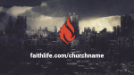 Comic Book City faithlife PowerPoint Photoshop image