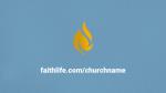 Blue Illustrated Service faithlife PowerPoint Photoshop image