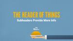 Blue Illustrated Service header subheader PowerPoint Photoshop image