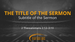 Grayscale Football Field sermon title PowerPoint Photoshop image
