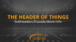 Grayscale Football Field header subheader PowerPoint Photoshop image
