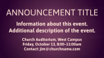 Purple Cross content a PowerPoint Photoshop image