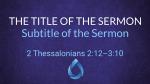 Royal Blue Baptism  PowerPoint Photoshop image 4