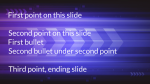 Purple Bands  PowerPoint image 2