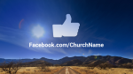 Desert Sky facebook PowerPoint image