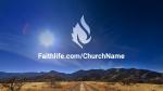 Desert Sky faithlife PowerPoint image