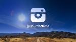 Desert Sky instagram PowerPoint image