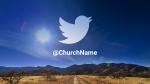 Desert Sky twitter PowerPoint image