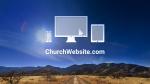 Desert Sky website PowerPoint image