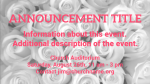 White Roses content a PowerPoint image