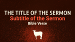 Revelation sermon title PowerPoint image