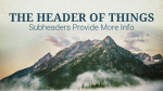 Sermon On The Mount header subheader PowerPoint image