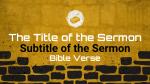 Restoration sermon title PowerPoint image