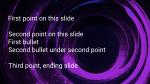Swirl  PowerPoint image 1