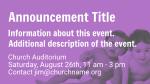 Purple Babies  PowerPoint image 2