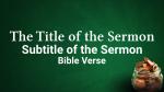 Dollars & Sense sermon title PowerPoint image