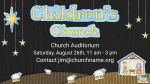 Children's Christmas church PowerPoint image
