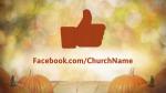 Fall Pumpkin facebook PowerPoint image