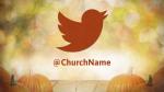 Fall Pumpkin twitter PowerPoint image