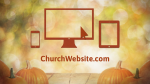 Fall Pumpkin website PowerPoint image