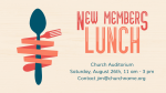 New-Members-Lunch  PowerPoint image 1