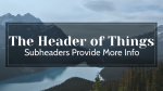 Who Is God header subheader PowerPoint image