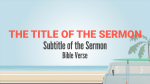 The Boardwalk sermon title PowerPoint image