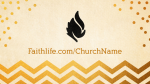Gold-Chevron  PowerPoint image 6