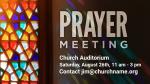 Prayer-Meeting  PowerPoint image 1