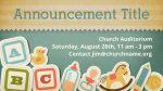 Baby Dedication Blocks content a PowerPoint image