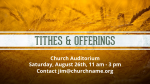 Harvest-Tithes-and-Offerings  PowerPoint image 1