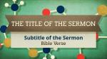 Community sermon title PowerPoint image