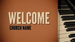 Music welcome 1 PowerPoint image