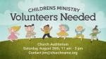 Children's-Helpers-Needed  PowerPoint image 1