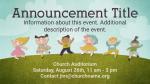 Children's-Helpers-Needed  PowerPoint image 2