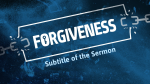 Forgiveness  PowerPoint image 4