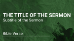 Green Greed sermon title PowerPoint image