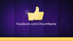 Purple Curtain facebook PowerPoint image