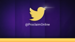 Purple Curtain twitter PowerPoint image