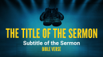 Victory in Christ sermon title PowerPoint image