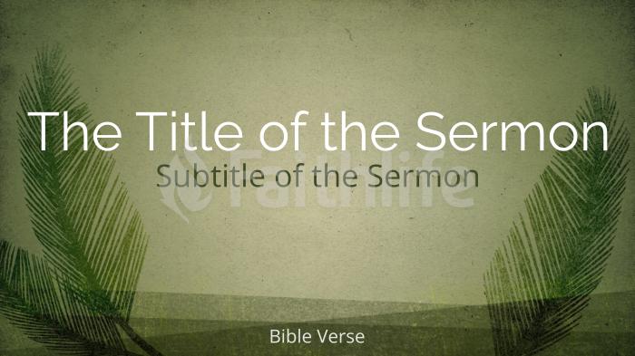 Palm Sunday sermon title smart media preview