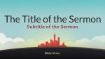 Sky City sermon title PowerPoint image