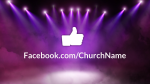 Stage Lights facebook PowerPoint image