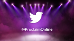 Stage Lights twitter PowerPoint image