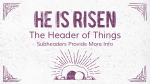 He is Risen  PowerPoint Photoshop image 17